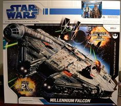 Star Wars The Legacy Collection Millennium Falcon Never Opened BNIB