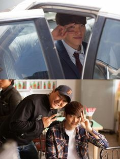"Behind the Scenes of ""HEIRS"" #Kdrama with Kim Woo-Bin as Choi Young-Do"
