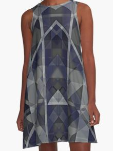 Extraterrestrial A-Line Dress  by Scar Design #summerclothing #summervacationsdress #beachdress #beach #summerfashion #giftsforher #gifts #giftsforteens #summergifts #womensfashion #hipster #colorful #style #swag #sunset #sunsetdress #dress #summerdress #