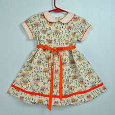 Vintage little girls dress.