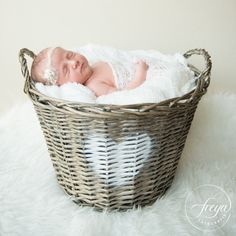 Baby in basket - cutest baby in the world…