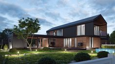 Growing House (2015) on Behance