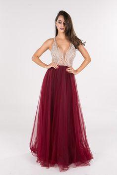 Elizabeth Marques - Marsala - Longos - Vestidos