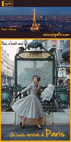 Pigafe.com - Je suis arrivé à Paris