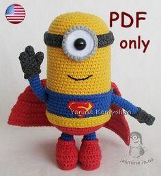 Mighty Hero amigurumi crochet pattern