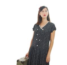 Check out this item in my Etsy shop https://www.etsy.com/il-en/listing/464895769/60s-dresswomens-vintage-dress1960