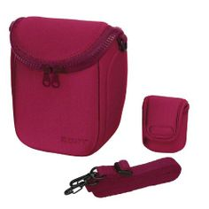 Sony Soft Carrying Case for NEX-5 NEX-3 NEX-C3   LCS-BBF/P Pink