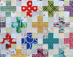 PDF: Scrappy Plus Quilt Pattern Download