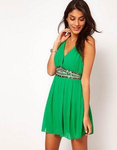 vestido color verde - Buscar con Google