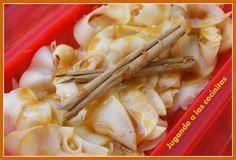 JUGANDO A LAS COCINITAS: Postre de manzana y yoghourt con miel y canela - Estuche de vapor - elsecretodelregalo.com
