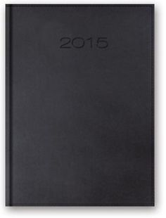 Kalendarz 2015. Kalendarz tygodniowy A5. Model 21T - grafitowy, merlin, 16,99