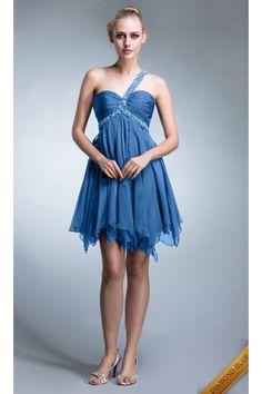 Short Prom Dress 2016 Vestiti Eleganti Scollati Dietro 35cb7fc6961