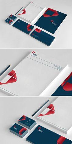 Flextel Soluções by Guilherme Mazzo, via Behance