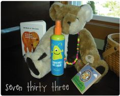 Two little sprays keep the monsters away! - seven thirty three