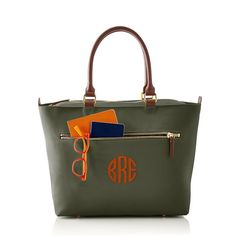 Vibrant Travel Tote | Mark and Graham