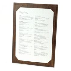 Wood-effect Menu Boards. The Smart Marketing Group - Hospitality. Rustic themed drinks menu boards and displays.