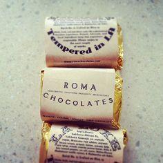 Our current obsession: Roma Chocolates http://romachocolates.com/