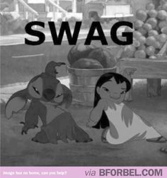 No one's got as much swag as Lilo and Stitch