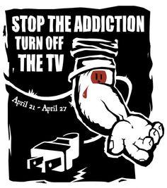 Stop TV Addiction | Adbusters Culturejammer Headquarters