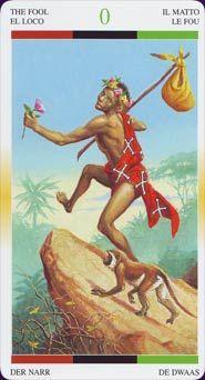 The Fool Name: African American Tarot Creators: Jamal R Publisher: Lo Scarabeo 2007