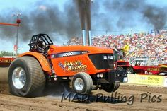 Young blood pulling tractor Truck And Tractor Pull, Tractor Pulling, Young Blood, Hot Rides, Drag Racing, Tractors, Trucks, Farming, Big