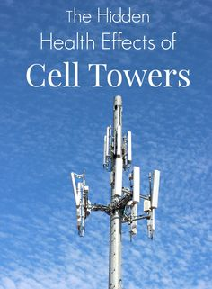 Are cell towers safe What do studies show about the hidden health effects See the radio frequency fields emitted from our local cell tower!