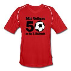 Dieses Trikot ist eine lustige Geschenkidee zum 50. Geburtstag für einen Fußball begeisterten Mann.