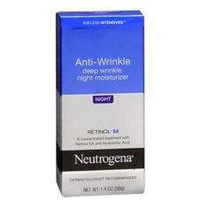 """Neutrogena Ageless Intensives Deep Wrinkle Moisture, Night: """"I recommend this product to my patients all the time because Neutrogena is a reliable company and the products are easy to find in any drugstore. The ingredients are of good quality and I have never had anyone complain about any skin reaction or difficulty managing this retinol."""" —Jessica Krant MD, board-certified dermatologist at the Laser"""