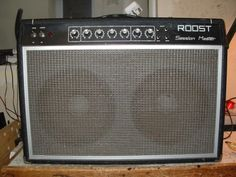 Repair of Roost Session Master Amp
