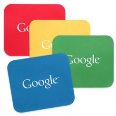 #Google is selling these customized with their logo Recycled Mouse Pad