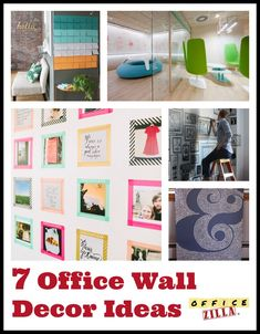 Office wall decor ideas Decal Office Wall Decor Office Walls Wand Dekor Cool Office White Walls Pinterest 142 Best Office Decor Images Desk Ideas Office Ideas Offices