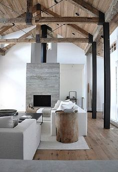 contemporary rustic scandinavian style = gorgeous | #homedecor