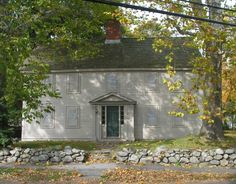 Ingersoll Ordinary, 1670, Danvers, Massachusetts ... the neighborhood tavern and site of the witch trials.