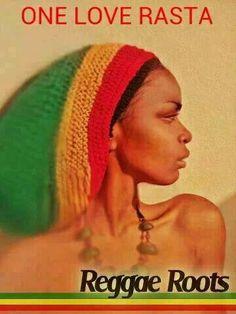 Rasta Sista. Reggae Roots.