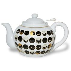 Cat Eye Teapot With Strainer