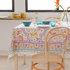 Zara Home New Collection Zara Home Collection, Landscape Prints, Cloth Napkins, Table Covers, Home Decor Trends, Table Linens, Vanity Bench, Home Accessories, Duvet Covers