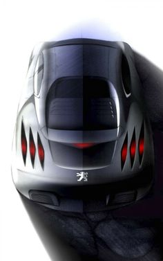 Peugeot 908 RC Design Sketch
