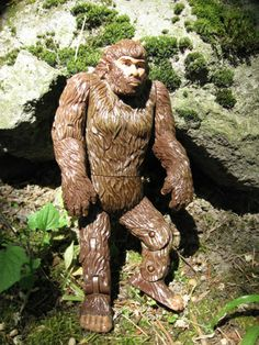 """Bigfoot Action Figure   Bigfoot Action Figure  """"I want one of these.""""--RS"""