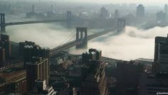 While the dense fog turned New York City into a fairytale scene on the morning of Jan. 15, 2014, it caused chaos for commuters on the East Coast, resulting in travel delays at airports in Washington, Philadelphia and New York City.