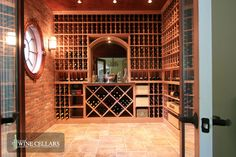 wine cellar idea - with window