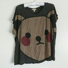I just discovered this while shopping on Poshmark: Teddy Bear Crop Top. Check it out! Price: $5 Size: M