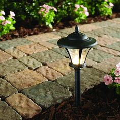 Hampton Bay Low-Voltage LED Black Metal Coach Path Light (6-Pack)-29156 - The Home Depot