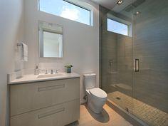 Modern Guest Bathroom | 440 W DILIDO DR, MIAMI BEACH, FL 33139 | Jeff Miller Group