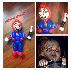 Chucky Twist Balloon