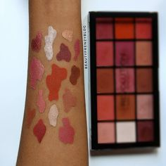 makeup revolution reloaded neutrals 2 palette swatches