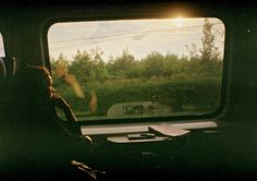 "thedamage-is-done: "" I love sitting in a train. Sure, you can listen to music everywhere but in a train … I don't know. The way the nature passes and the thoughts begin to flow without even knowing it … it's something really special. Train Rides, Train Trip, Train Travel, Running Away, Film Photography, Travel Pictures, Travel Photos, Daydream, Serenity"