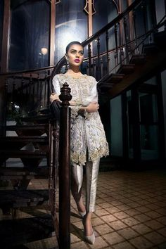 Suffuse by Sana Yasir Party Wear Collection 2015 Pakistani Couture, Pakistani Outfits, Indian Outfits, Pakistan Fashion, High Fashion, Indian Fashion, Party Wear, Beautiful Outfits, Women Wear