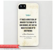 Harry Potter iPhone Case / Cover / Dumbledore by PinkCaffeination, $32.00