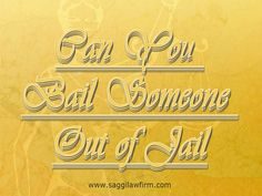 To this end, there are agents who pay in to the court the amount set so that the accused can run free until the appearance in court. For those who think that they may have to avail themselves of this service, try looking up 'bail bond' or 'Surety Bond To Get Out Of Jail' online to see which ones are available in the local area. Pop over to this web-site http://saggilawfirm.com/ for more information on Surety Bond To Get Out Of Jail.