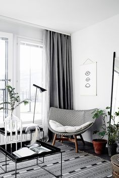 my scandinavian home: A beautiful and smart tiny one room flat in Finland